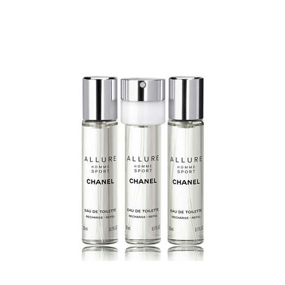 Chanel - Allure Homme Sport EDT Refill 3 x 20 ml
