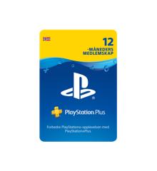 PSN Plus Card 12m Subscription NO (PS3/PS4/PS5/Vita)