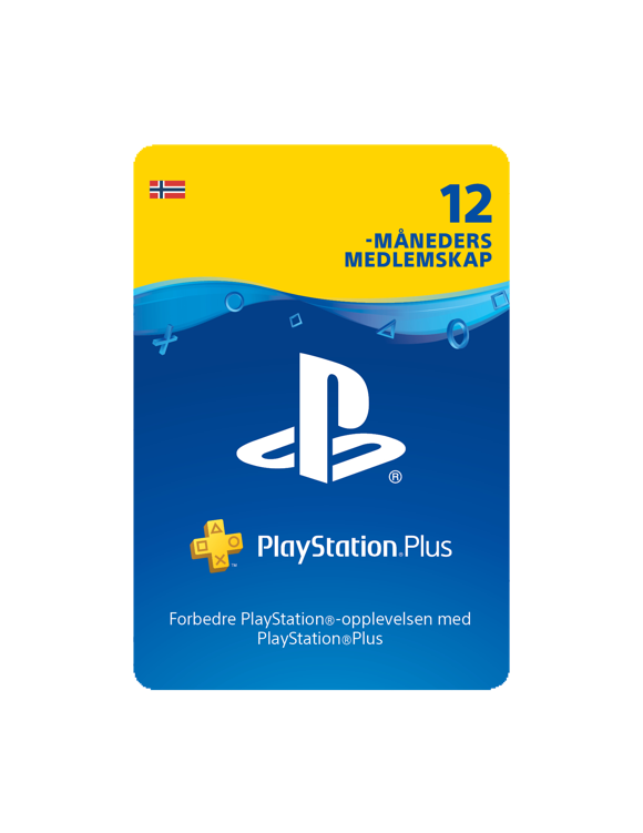 PSN Plus Card 12m Subscription NO (PS3/PS4/Vita)