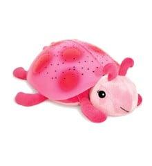 Cloud B - Original Mariehøne Natlampe - Twilight Ladybug, pink