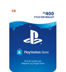 Playstation Network Card 400 Kroner (PS3/PS4/Vita)