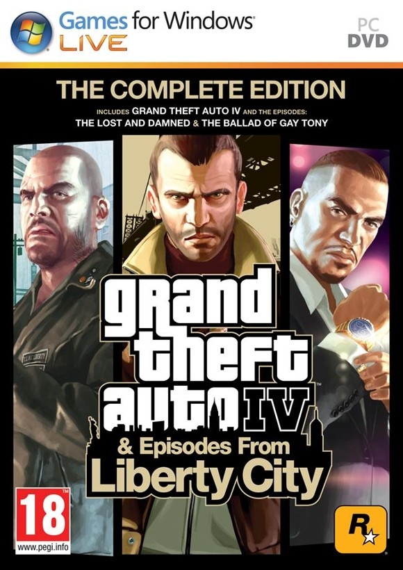 Grand Theft Auto IV (GTA 4) Complete Edition