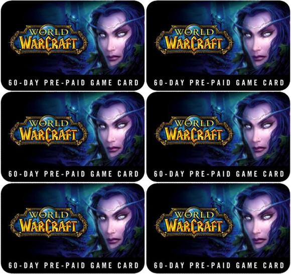 World of Warcraft GameCard Bundle 360 days
