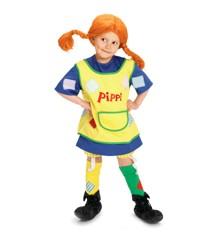 Pippi - Udklædning - str. 122-128 cm (44360000)