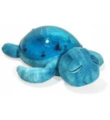 Cloud B - Skildpadde Natlampe med lyd og lys - Tranquil Turtle Aqua (CB7423-aq)