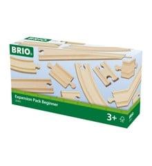 BRIO - Skinnesæt 11 dele (33401)
