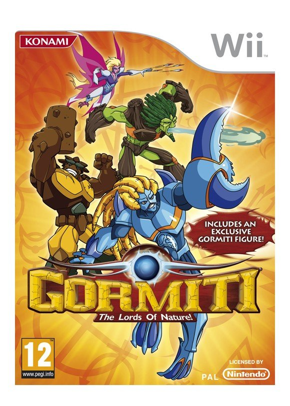 Gormiti: The Lords of Nature! (With Exclusive Figure)