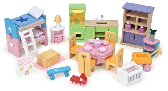 Le Toy Van - Starter Dolls House Furniture Set (LME040)