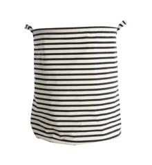 House Doctor - Vasketøjskurv Stripes