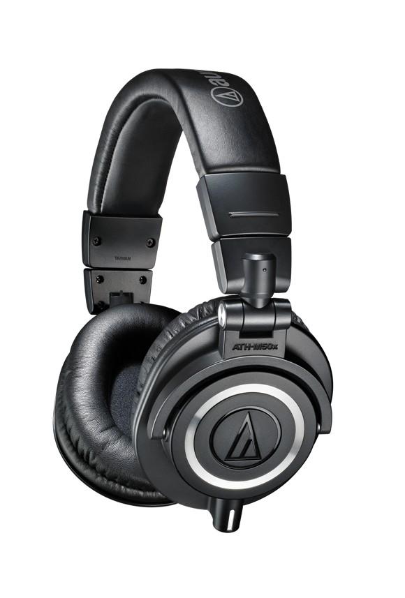 Audio Technica ATH-M50X Hovedtelefon Sort
