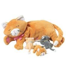 Manhattan Toy - Nina katt med kattunger (107790)