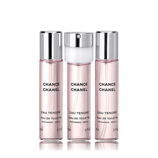 Chanel - Chance Eau Tendre Refill EDT 3 x 20 ml