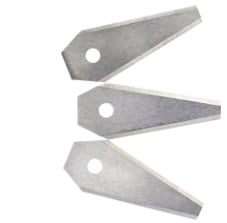 Bosch - Replacement blade for Indego robotic lawnmower - 3 pcs