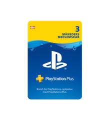 PSN Plus Card 3m Subscription DK (PS4)