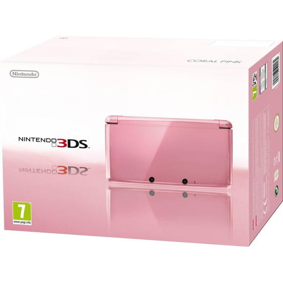 Nintendo 3DS Console - Coral Pink (EURO)