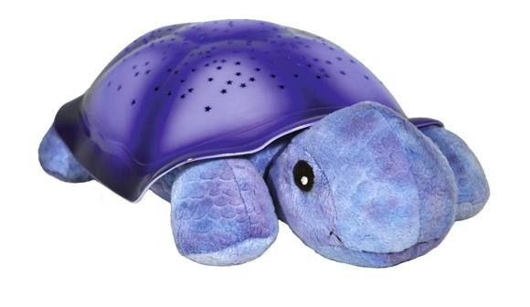 Cloud B - Original Skildpadde Natlampe - Twilight Turtle - Lilla