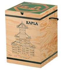 Kapla bricks 280 pcs - Green book (kapla280)