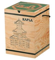 Kapla byggeklodser 280 stk - med grøn bog (kapla280)