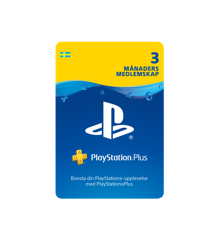PSN Plus Card 3m Subscription SE (PS3/PS4/Vita)