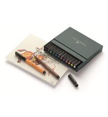 Faber-Castell - PITT artist pen B studio, 12 stk (167146)