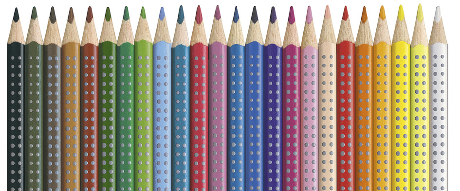 buy faber-castell - 24 colour grip 2001 pencils (112424