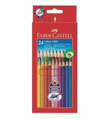 Faber-Castell - Buntstift Colour GRIP 24er Kartonetui (112424)
