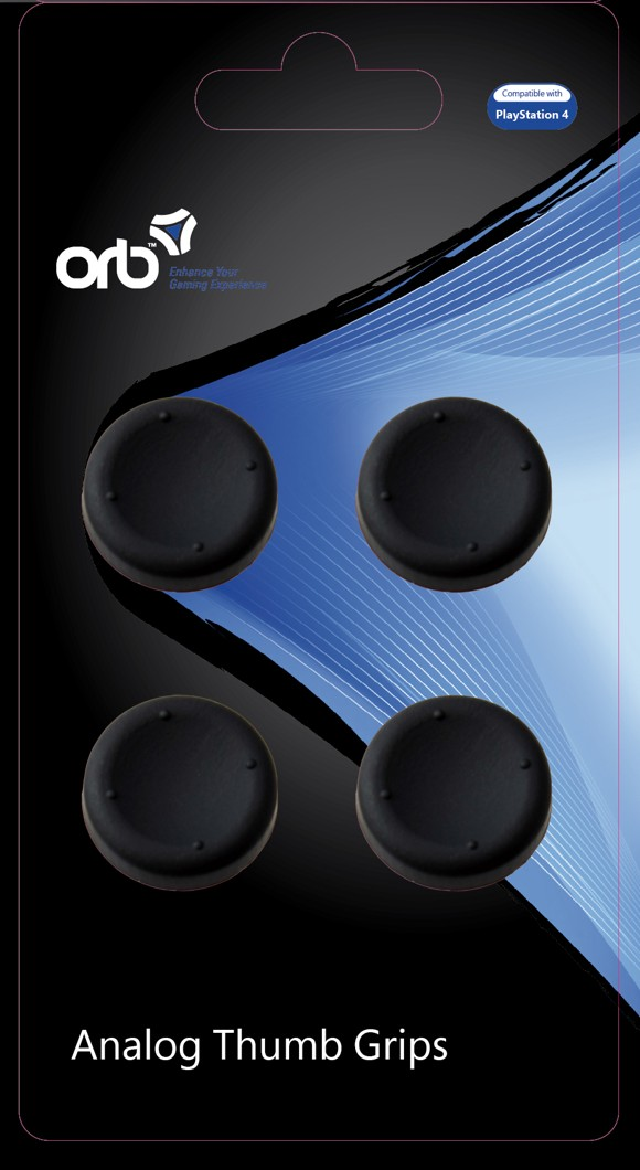Controller Thumb Grips 4-Pack (ORB)