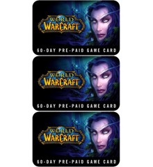 World of Warcraft GameCard Bundle 180 days