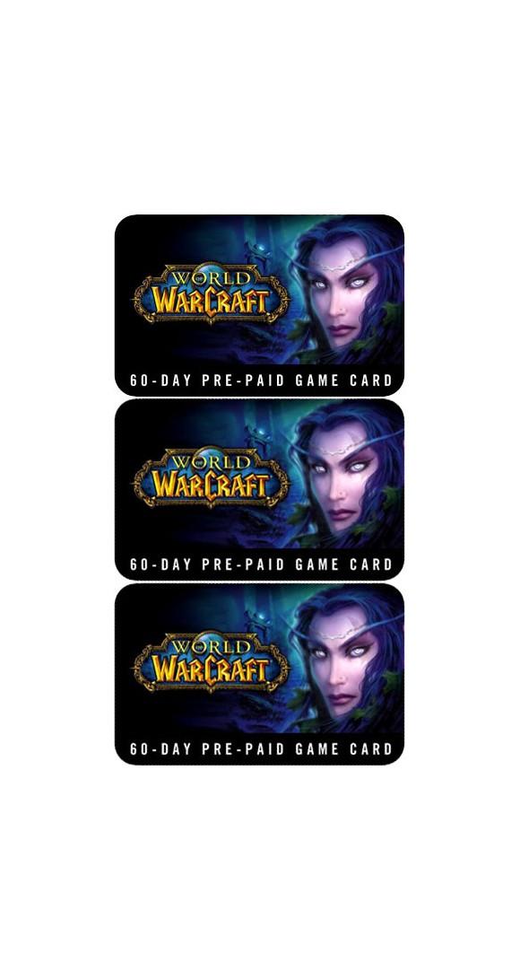 World of Warcraft GameCard Bundle 180 days