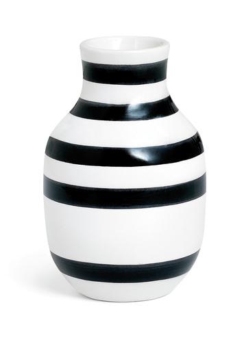 Kähler - Omaggio Vase Black - Small (11960)