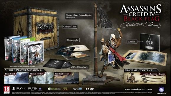 Assassin's Creed IV (4) Black Flag Buccaneer Edition