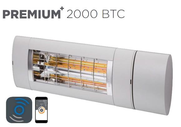 Solamagic - 2000 Premium BTC Patio Heater - Titanium - 5 Years Warranty