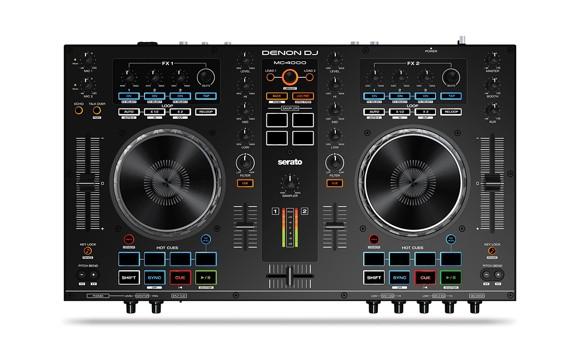 Denon DJ - MC4000 - 2-Channel Serato USB DJ Controller