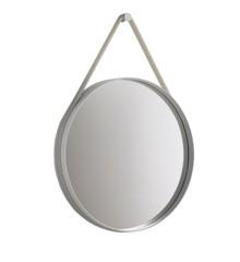 HAY - Strap Spejl Ø 70 cm - Grå