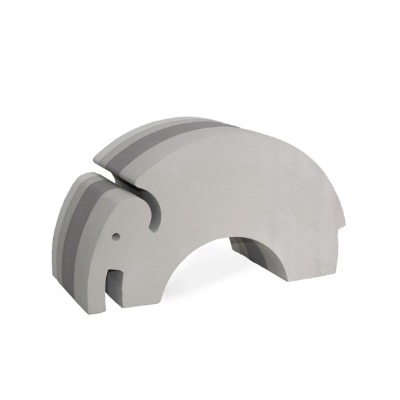 bObles Elephant, Grey NEW