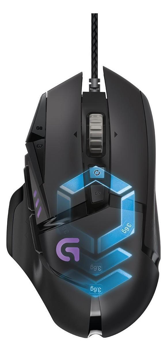 Logitech G502 Proteus Spectrum RGB Tunable Gaming Mus