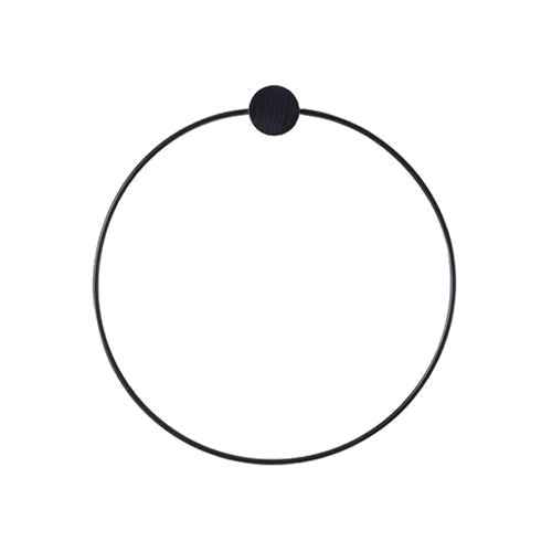 Ferm Living - Towel Hanger - Black (4141)