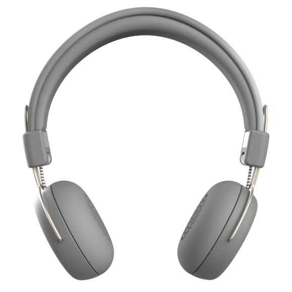 KreaFunk - aWEAR Headphones - Cool Grey/Pale Gold (KDWT94)
