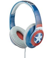 eKids - Captain America Civil War - Headphones with in line Microphone