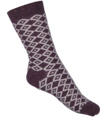 Melton - Wool Sock Nordic w. Silk