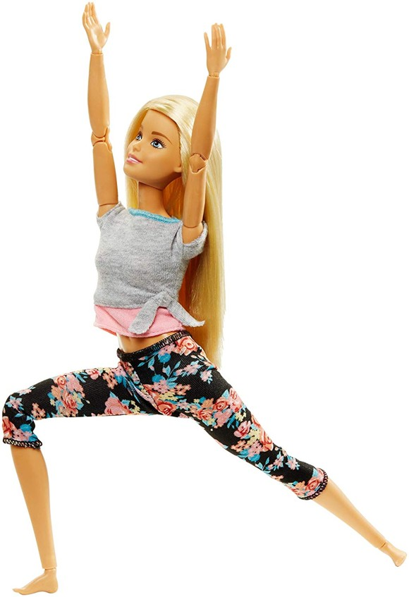 Barbie - Made to Move - Pink Shirt (FTG81)