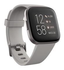 Fitbit - Versa 2  Stone/Mist Grey
