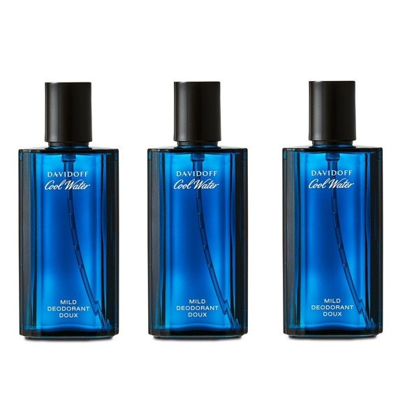 Davidoff - 3x Cool Water Man Deo Spray 75 ml