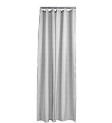 Zone - Tiles Shower Badeforhæng 200 x 180 cm - Soft Grå