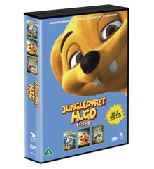 Jungledyret Hugo 1 2 3 Box - DVD