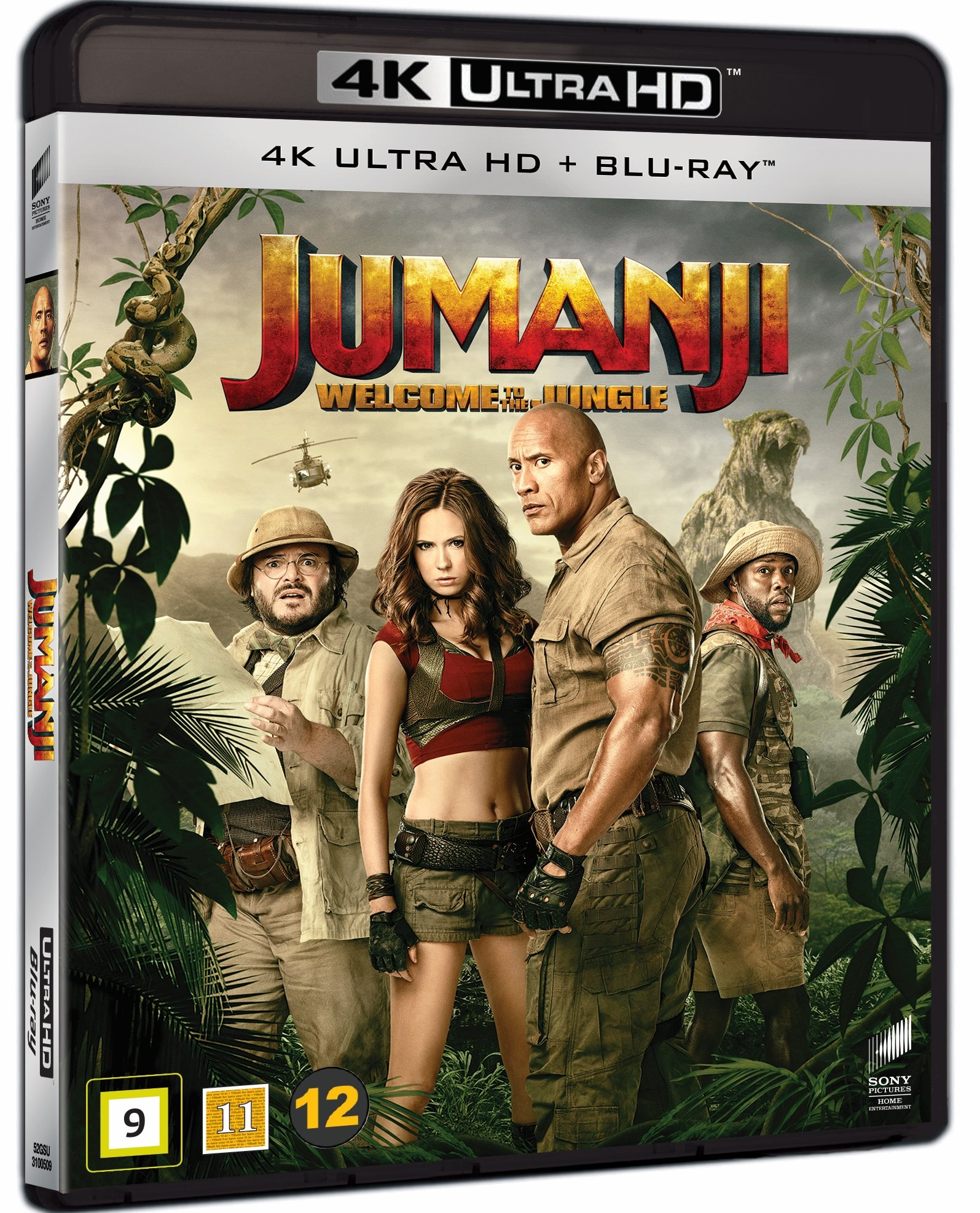 Jumanji: Welcome to the Jungle (4K Blu-Ray)