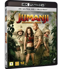 Jumanji: Welcome to the Jungle (4K Blu-Ray)