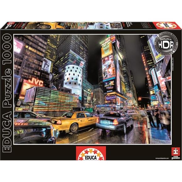 Educa - Puslespil 1000 Brikker - Times Square, New York