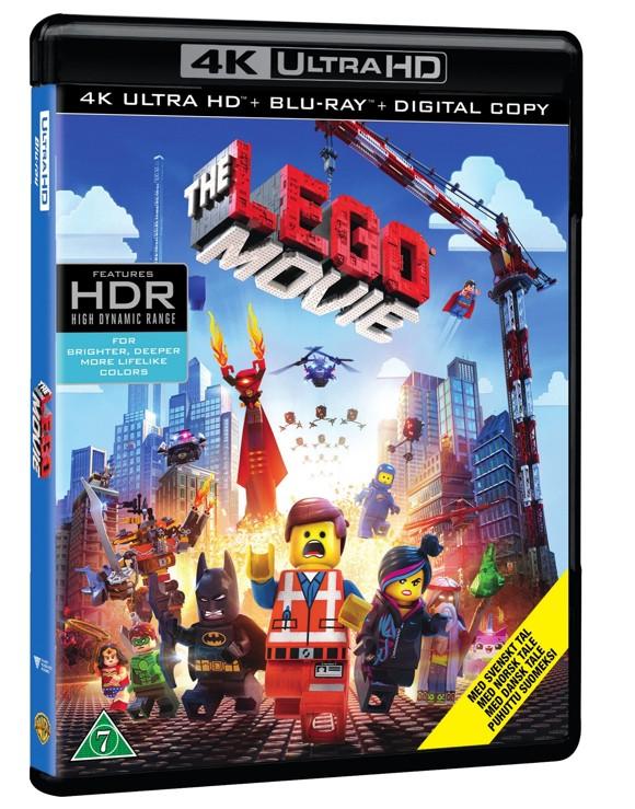 LEGO - The Movie (4K Blu-Ray)