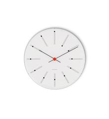 Arne Jacobsen - Bankers Wall Clock Ø 29 cm - White (43640)